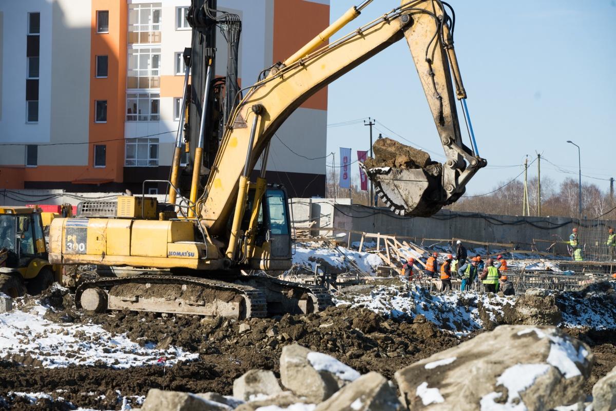Строительство нового дома в «Хрустальных ключах» уже началось
