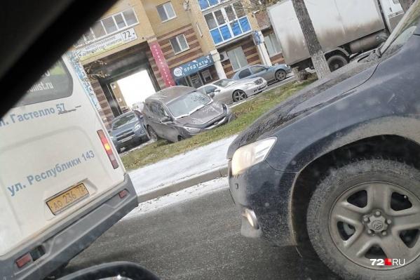 Победитель в номинации «мастер парковки» (Червишевский тракт)