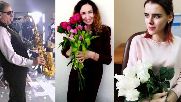 Международный женский день в офисах: смотрим, как коллеги поздравляли омичек с 8 Марта