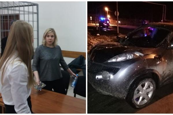Марина Мартемьянова сбила людей на своем Nissan