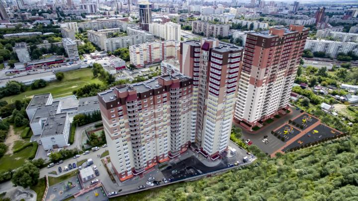 Недалеко от метро «Гагаринская» строят дом с красивыми подъездами, которые можно назвать парадными
