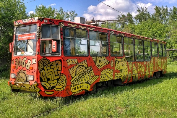 Сегодня обновлённый трамвай № 13 начал возить пассажиров