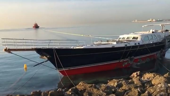 Яхту омского депутата Кокорина «Сила Сибири» отправят на ремонт