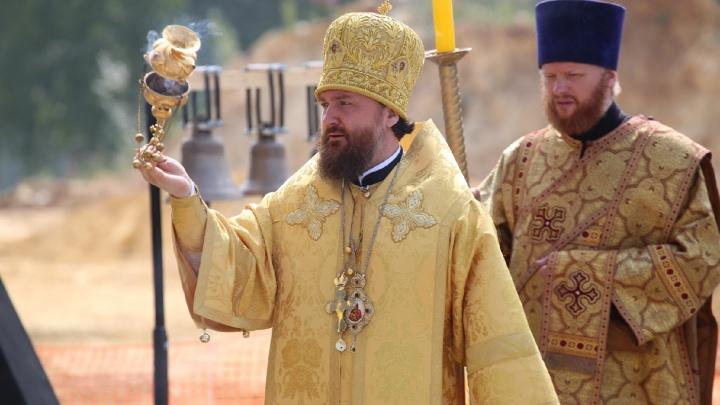 Историческое событие: в Челябинске освятили колокола для нового кафедрального собора