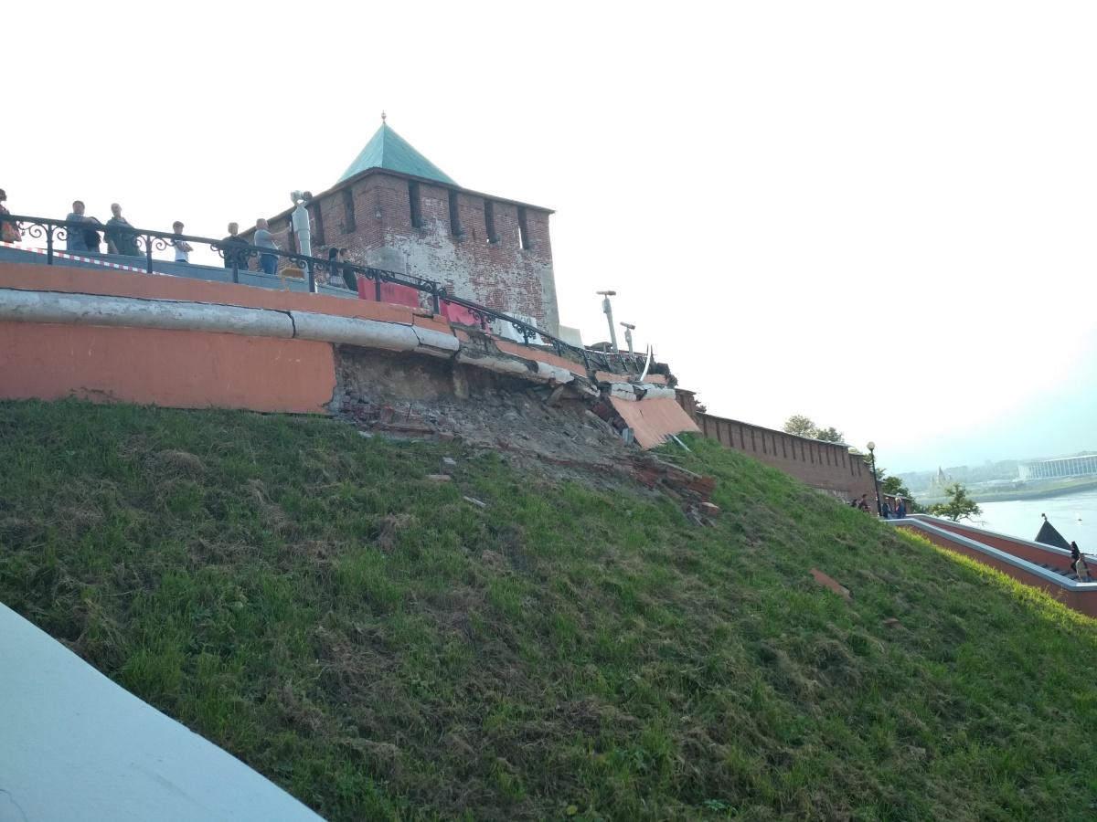 Фасад главной лестницы Нижнего Новгорода сейчас выглядит так