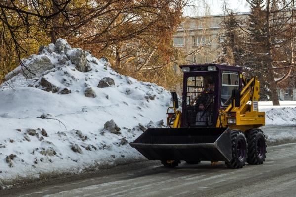 Дороги Советского района привели в идеальное для зимы состояние