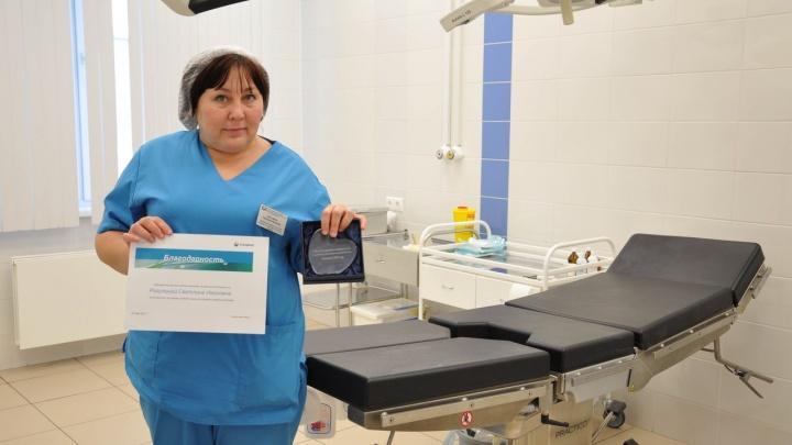 Медсестра красноярского онкодиспансера вошла в число лучших по стране из-за благодарностей пациентов