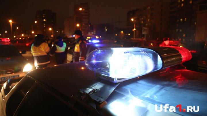 На трассе в Башкирии водитель за рулем Lexus сбил насмерть пешехода