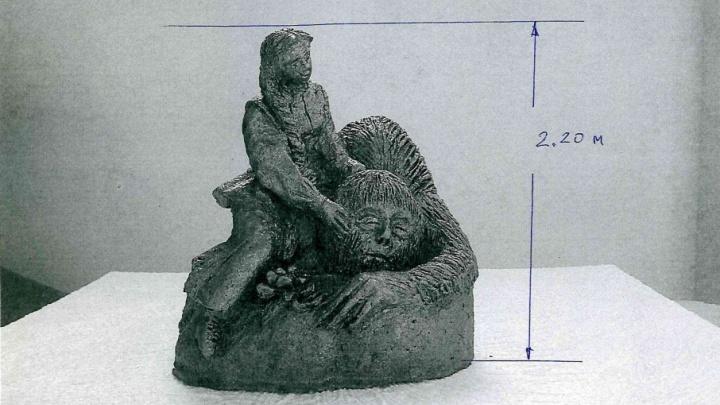В Кумертау установят скульптуру «Аленький цветочек»
