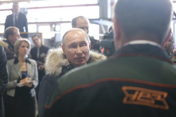 Владимир Путин большую часть вторника провёл в Свердловской области
