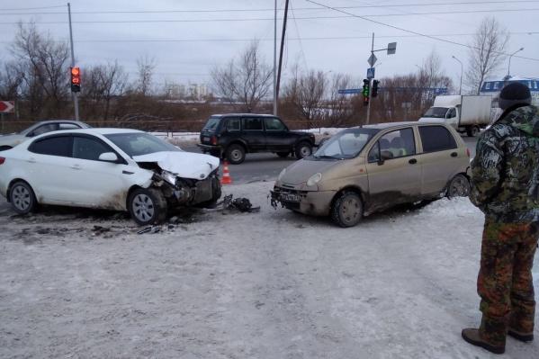 ДТП в городе обошлись без пострадавших