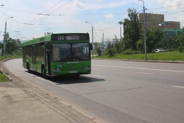 Автобус №12 теперь ходит до Северного