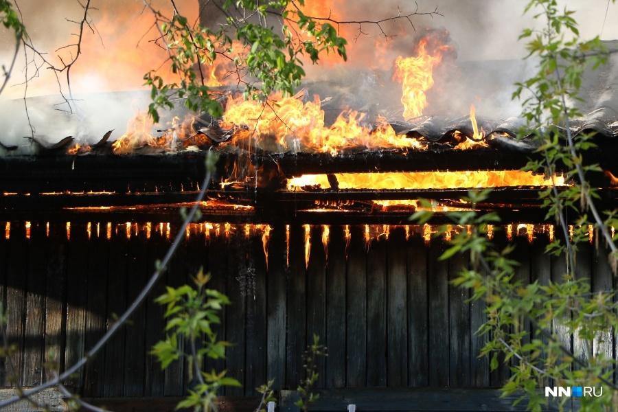 Гражданин  Нижегородской области живьем  сжег 2-х  человек