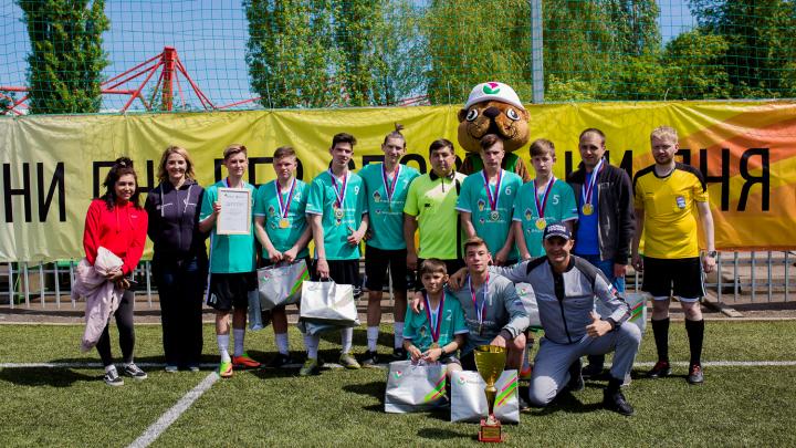 Больше чем спорт: в Уфе прошло первенство по мини-футболу среди детских домов