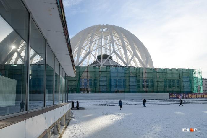 Екатеринбургский цирк теперь обладает земельным участком площадью 3,6 га, а ранее у него было 5,7 га