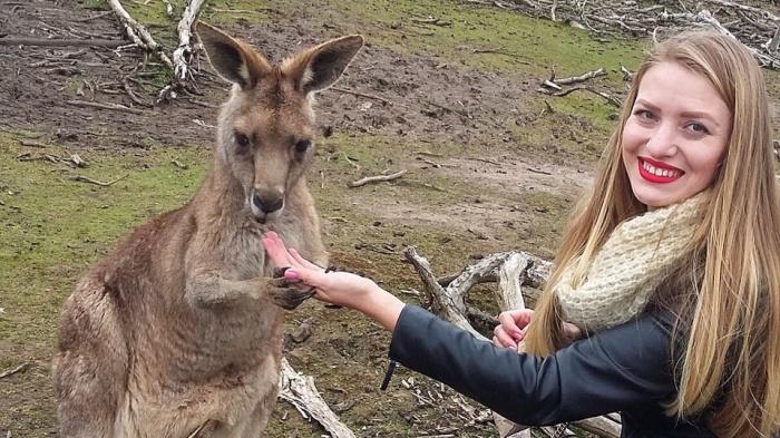Ольга Уколова уехала в Австралию, сначала поработав в Европе