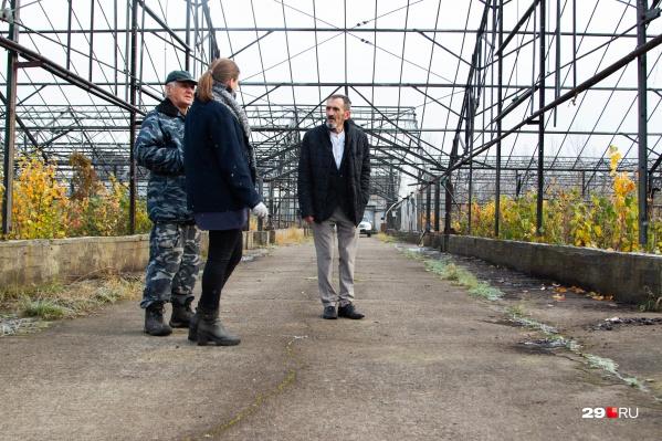 Геннадий Иванов показал также нам питомник, где выращивает интересные растения