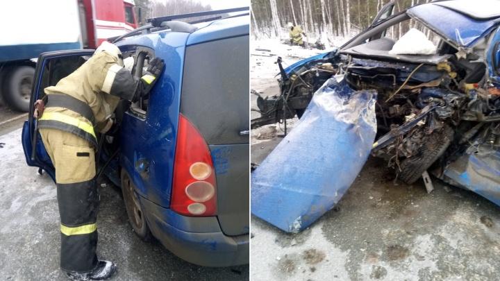 В аварии на «трассе смерти» погибла женщина