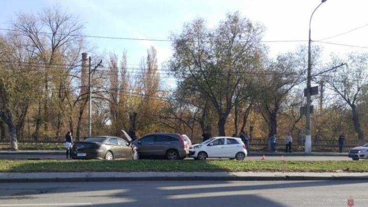 Стали известны подробности массовой аварии в Краснооктябрьском районе Волгограда