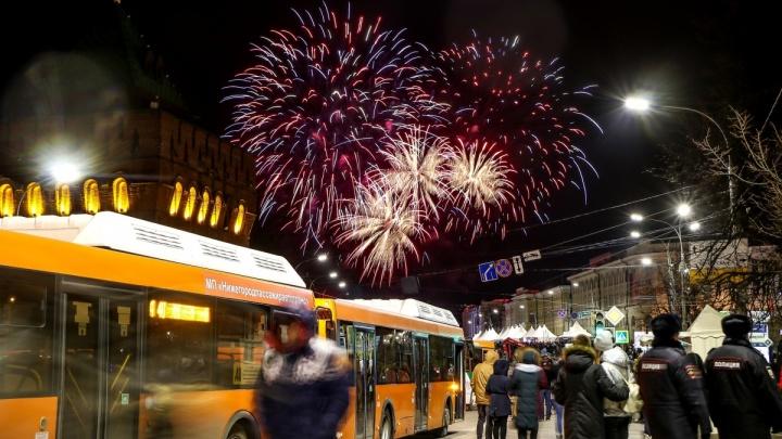 Власти рассказали, где в Нижнем Новгороде разрешено запускать салют в Новый год