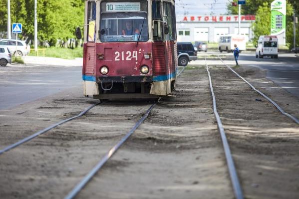 Ремонт трамвайных путей закончится 6 августа