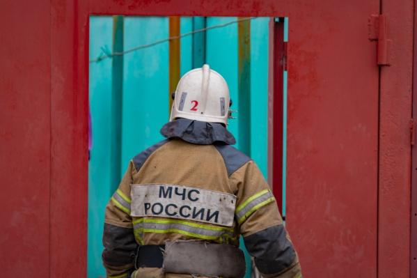 Пожарным удалось потушить пламя за 15 минут