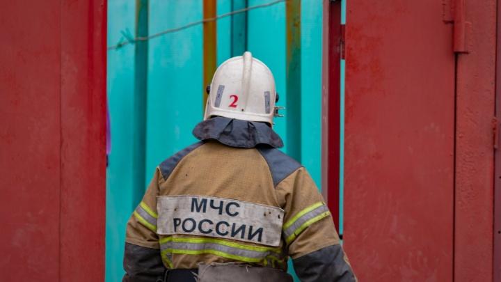 В Ростовской области на пожаре погиб человек