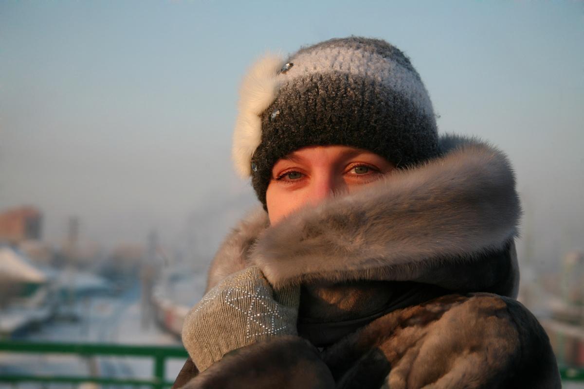 В ближайшую ночь температура в городе упадёт до–27 градусов