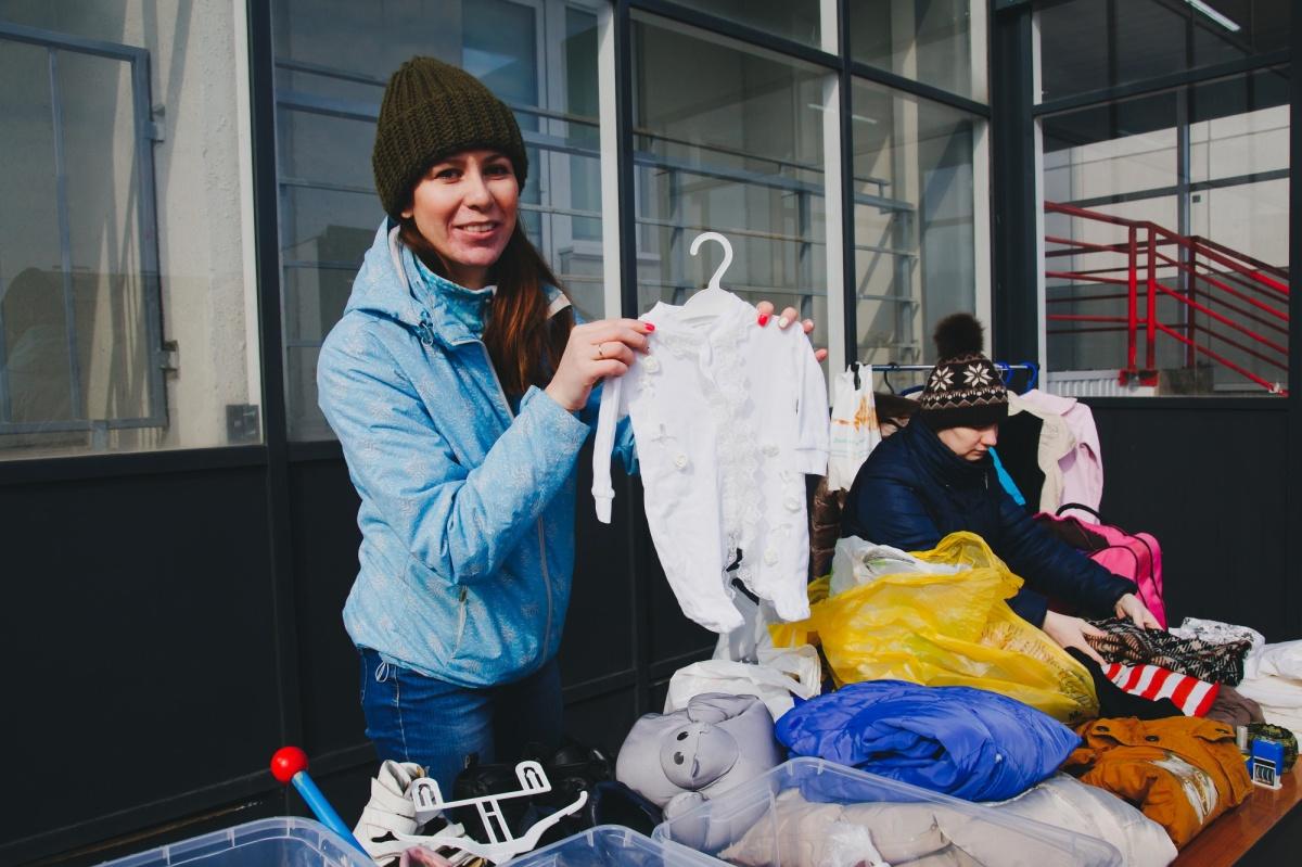 Жительница «Вишневой горки» Екатерина Мухаметьева организовала проект«Вещеворот»
