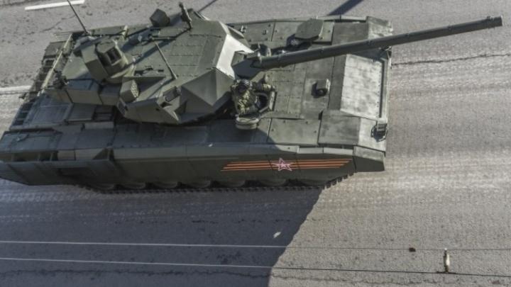 """Новейшими уральскими танками """"Армата"""" будет управлять штаб """"звёздных войн"""""""