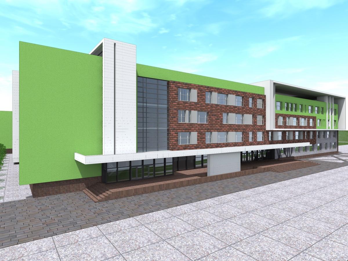 В центре появятся большой и малый спортивные залы, зал ЛФК, спортивно-оздоровительный бассейн и малый бассейн для обучения плаванию