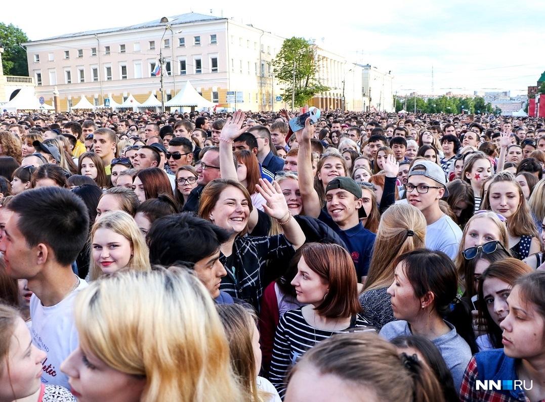 В День России нижегородцев ждёт одна из самых насыщенных развлекательных программ