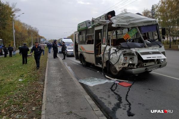 В аварии пострадало 12 человек, многие попали в больницу