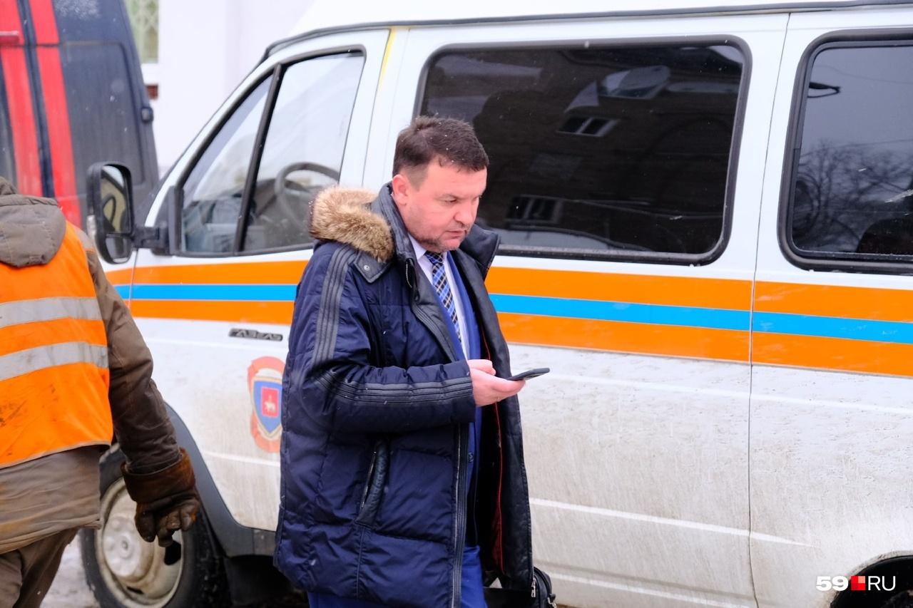 Константин Черемушкин прибыл на место аварии