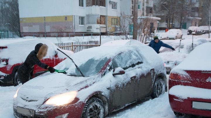 Синоптики рассказали, когда в Самарской области снова повалит снег