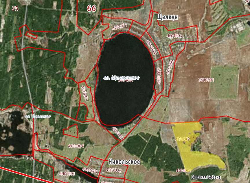 Расположение самого дорогого участка на Среднем Урале в открытой продаже