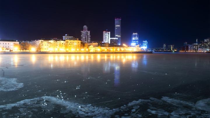 Город-сказка, город-мечта: собираем фото заледеневшего Екатеринбурга