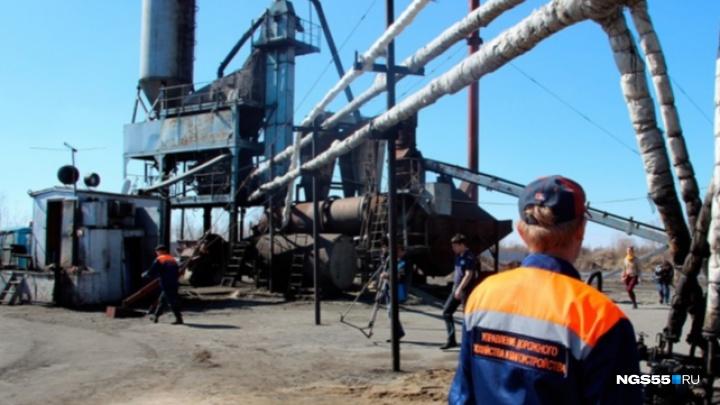 Омская прокуратура потребовала остановить асфальтовый завод из-за выбросов