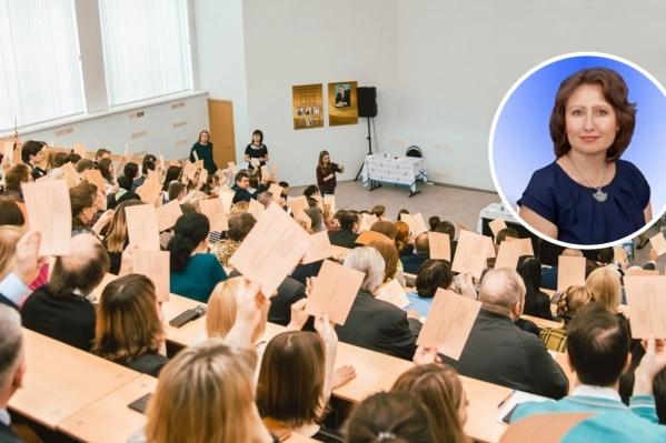 За Светлану Ашмарину проголосовало большинство участников выборной конференции