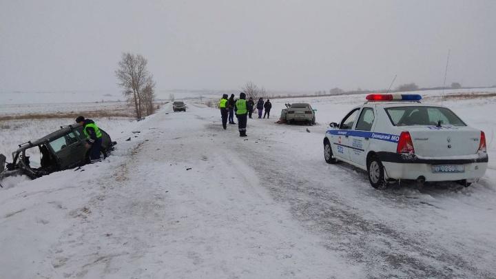 Двое взрослых и ребёнок погибли в аварии на южноуральской трассе
