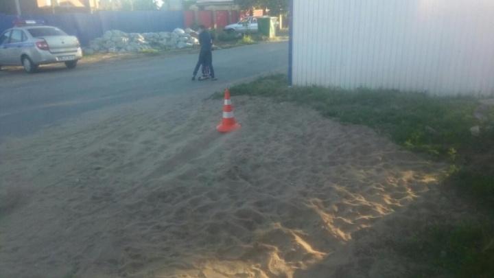 Сбил малыша и уехал: полиция ищет водителя, который скрылся с места аварии