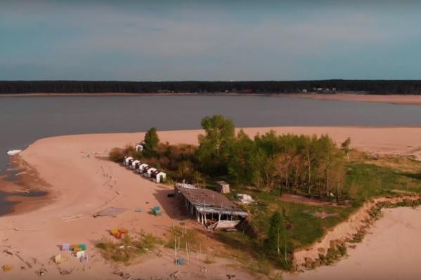 Видео с пейзажами Обского моря Станислав Ражев опубликовал на своём канале наYouTube