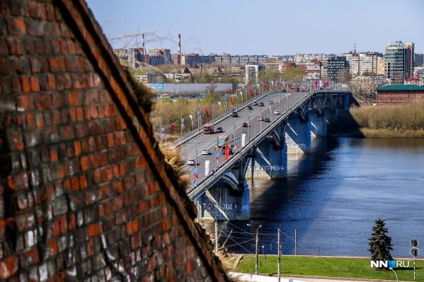 Канавинский мост в Нижнем Новгороде