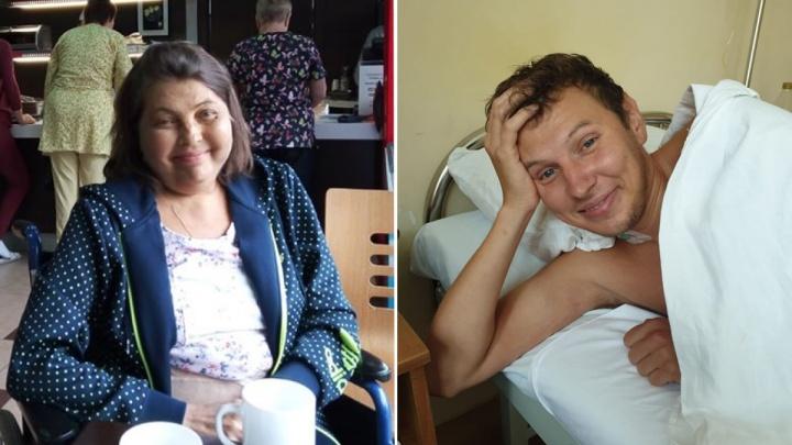 «Это любовь и долг»: красноярские хирурги провели пересадку печени от сына матери