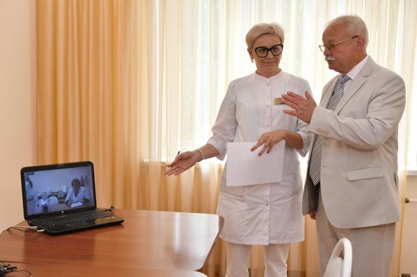 Компенсирует ли врач в компьютере отсутствие возможности осмотреть пациента?