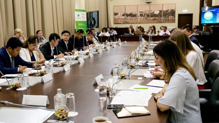 Сбербанк собрал на своей площадке представителей российского и китайского бизнеса