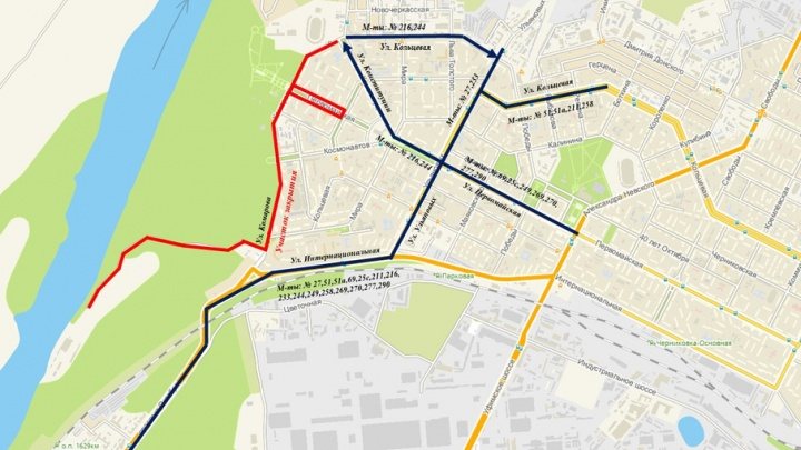 Велосипедисты снова оккупируют Уфу: полный список перекрытий улиц