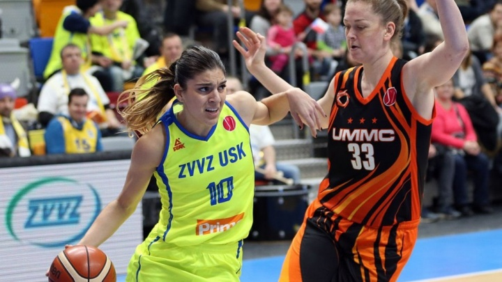 Баскетболистки УГМК в одиннадцатый раз подряд вышли в «Финал четырёх» Евролиги