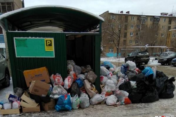 Мусорный коллапс в Челябинске произошёл во время работы МУП «ГорЭкоЦентр»
