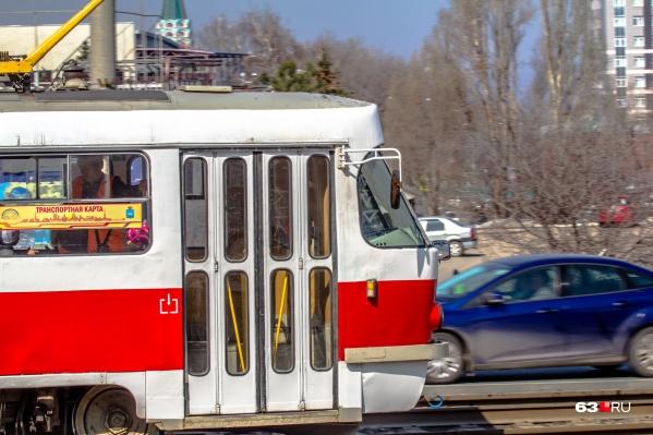 Трамваи будут ходить по сокращенным маршрутам только в выходные